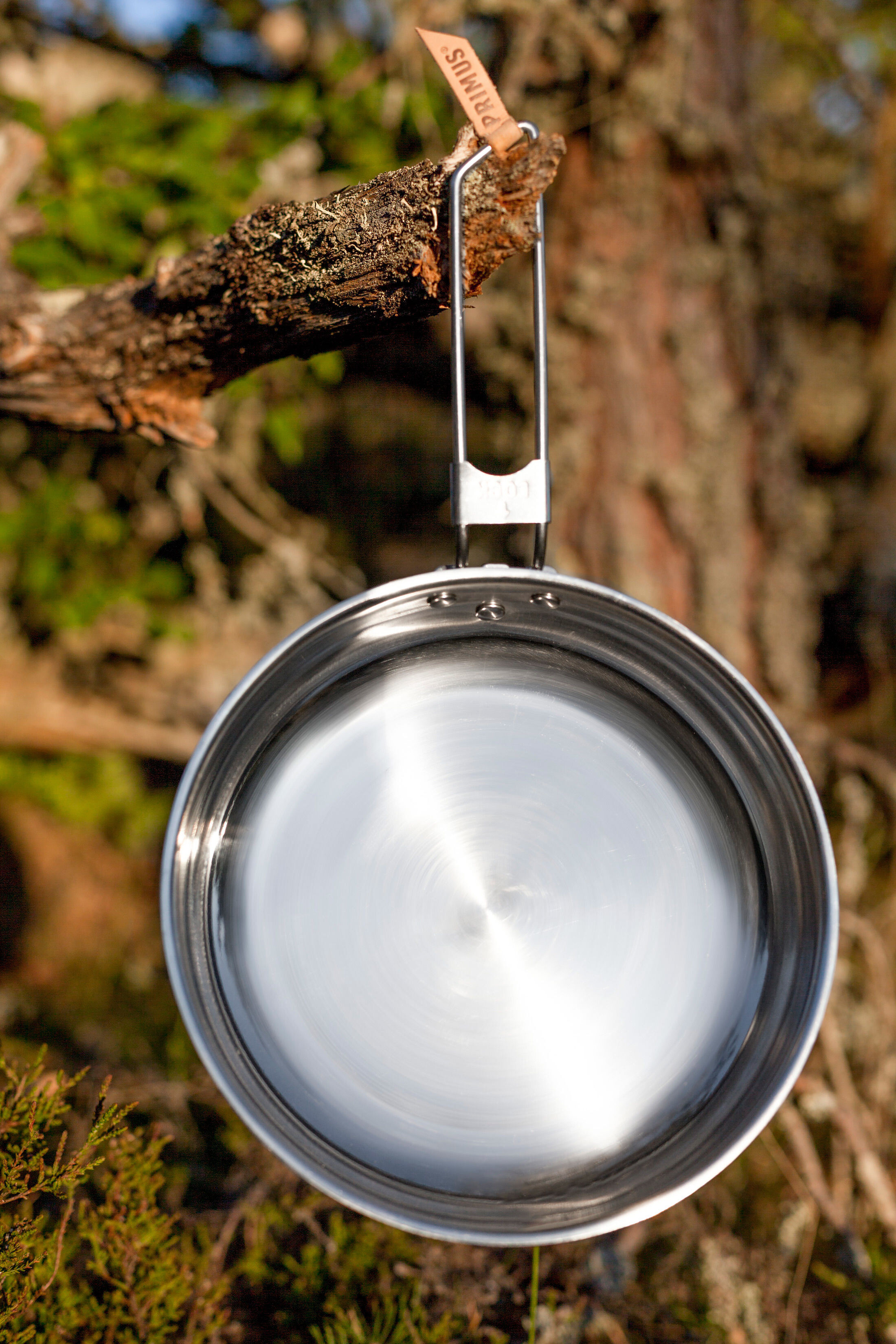 Primus Campfire Frying Pan Stainless Steel 25cm At